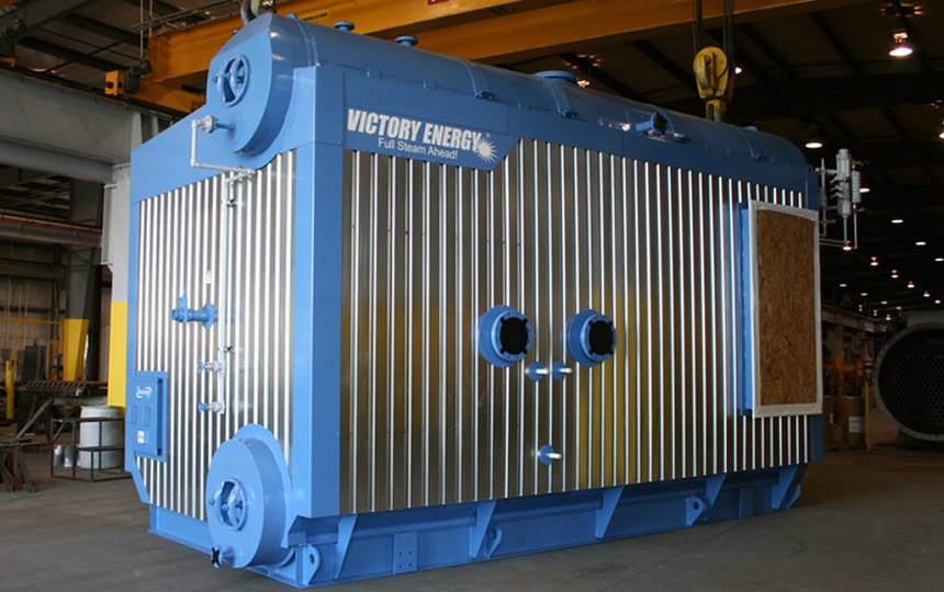 What Is Auxiliary Heat >> Victory EnergyD-Type Industrial Watertube Boiler: DISCOVERY® Series - Victory Energy