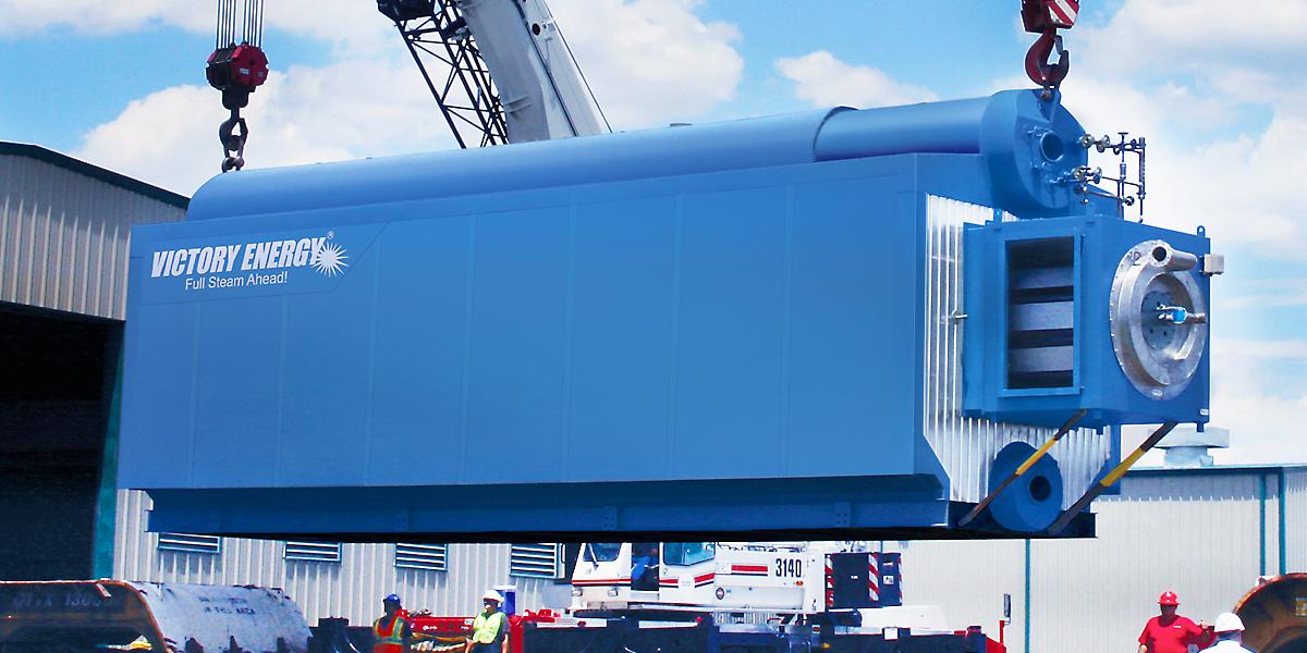 Victory EnergyO-Type Industrial Watertube Boiler - Victory Energy