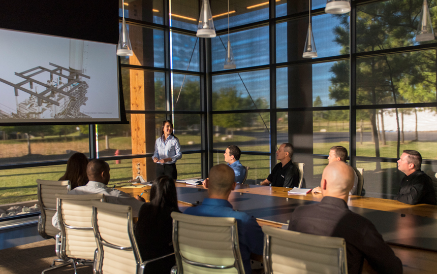 Company Meeting, Victory Energy Operations Corporate Headquarters, Collinsville, OK