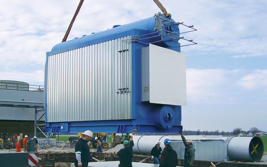 Victory Energywaste Heat Watertube Boiler Horizon 174 Series
