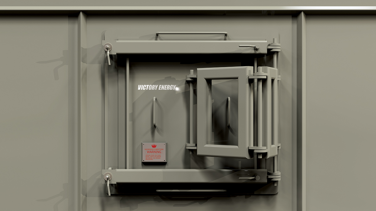 Articulating Hinged Access Door